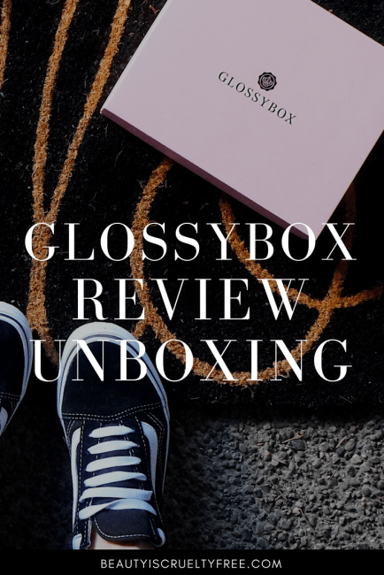 Glossybox unboxing review January | beautyiscrueltyfree.com