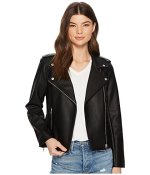 capsule-wardrobe-vegan leather jacket