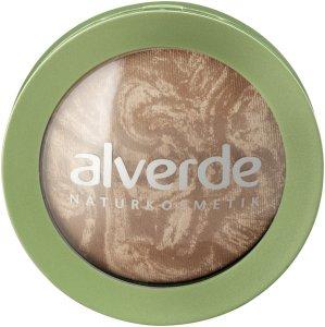 alverde - Marmorierter Duo Bronzer 01 Soft Bronze