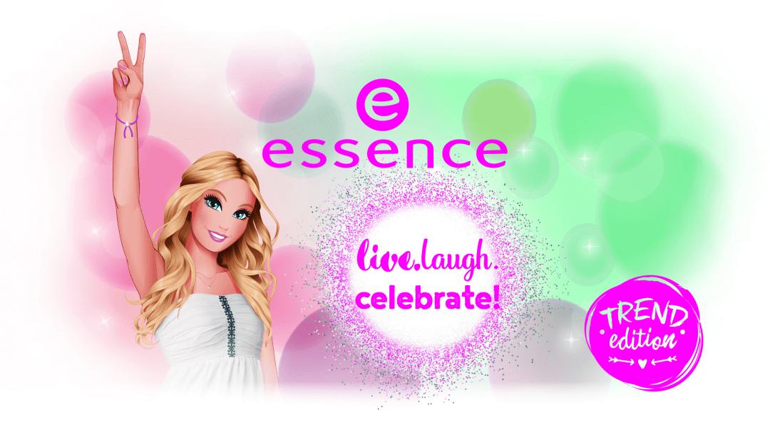 "essence trend edition ""live.laugh.celebrate"""