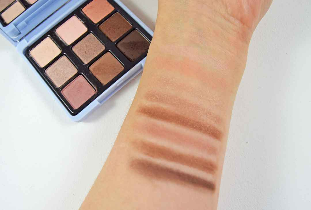Kiko Less is better Superduper eyeshadow palette swatches