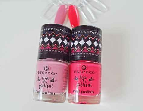 "essence ""life is a festival"" - nail polish"