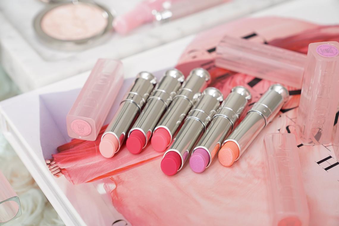 Dior lip glow della linea backstage