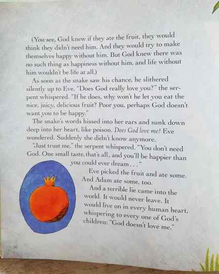 Jesus storybook bible page