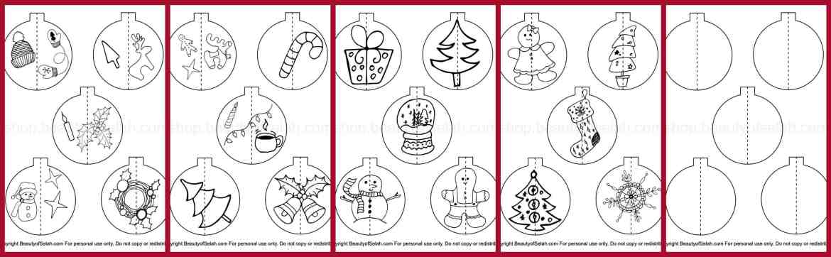 3d christmas ornaments to make with kids all sheets