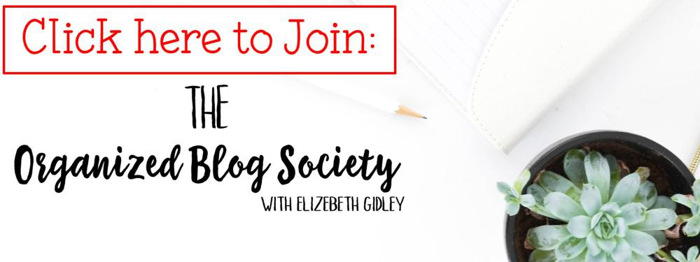 Click here to join the organized blog society