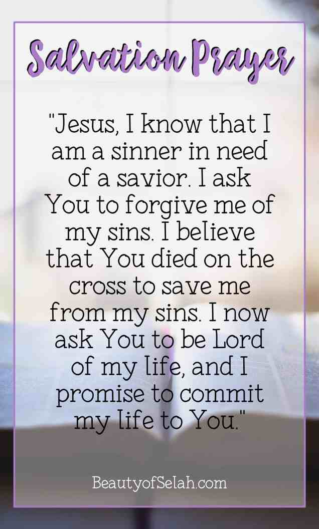 Salvation Prayer Learn how to give your life to Jesus and receive salvation. How to go to heaven