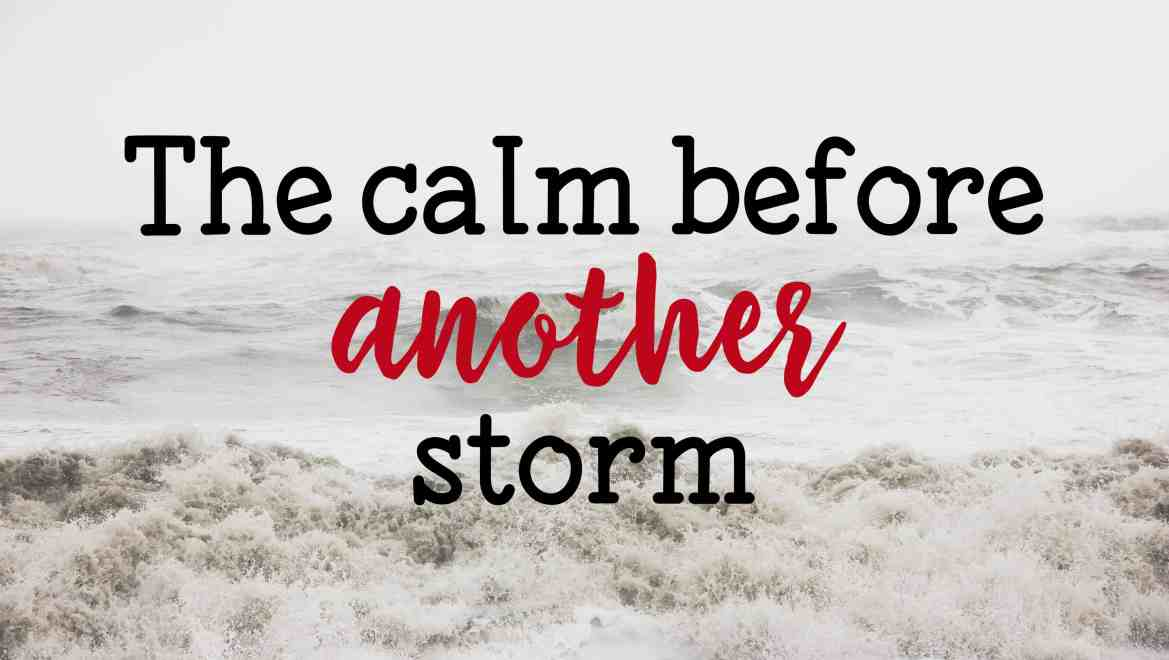 The calm before another storm My testimony series from surviving relentless abuse to a blissful life