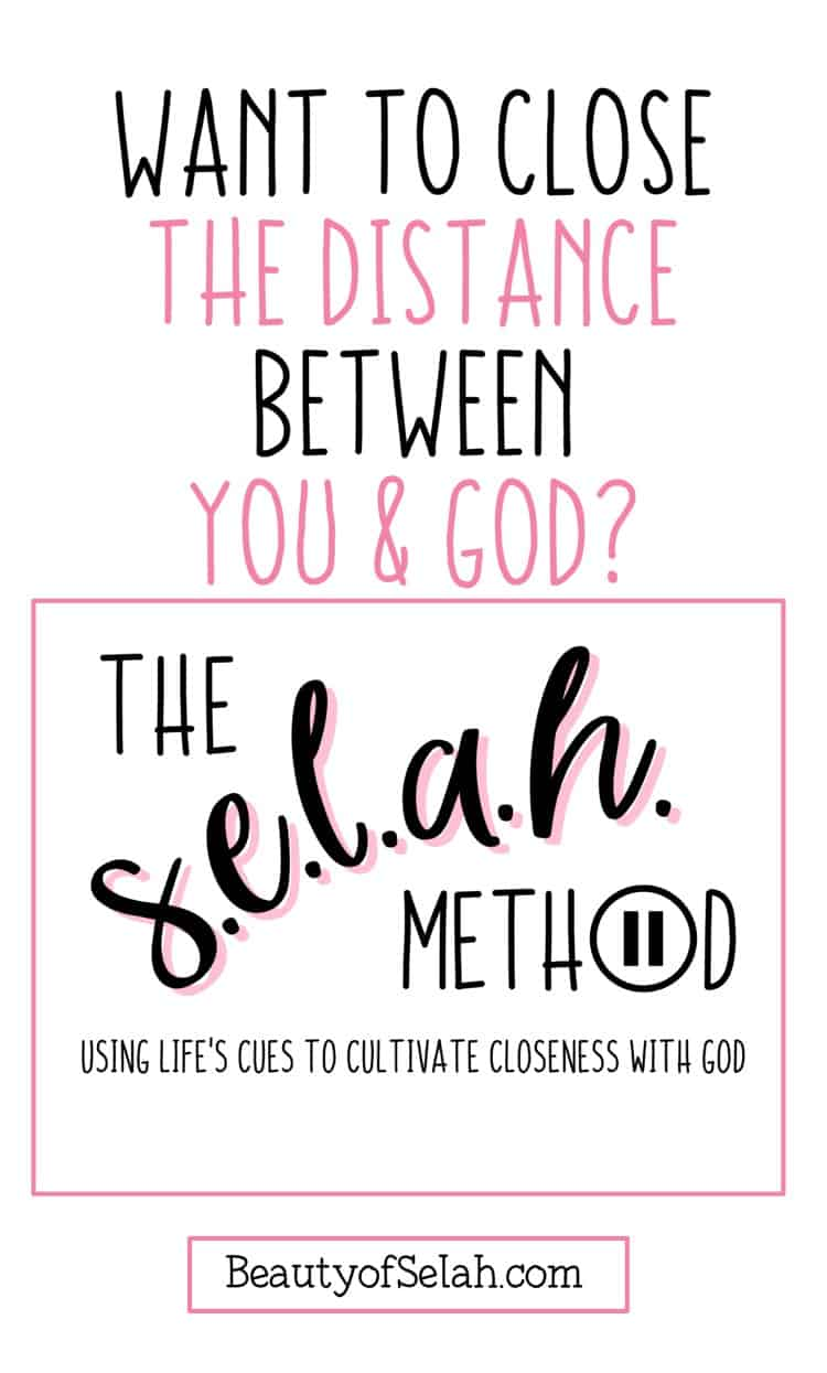 want to close the distance between you and God