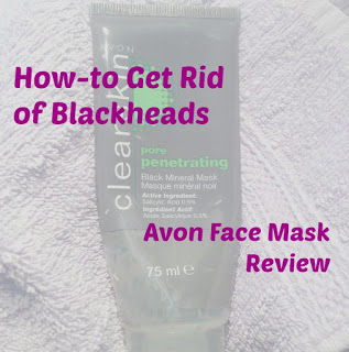 Avon Pore Penetrating Black Mineral Mask || REVIEW
