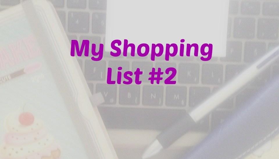 My Shopping List #2