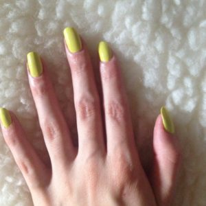 two coats yellow