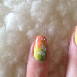 Pinterestom inspiriran ljetni nail art