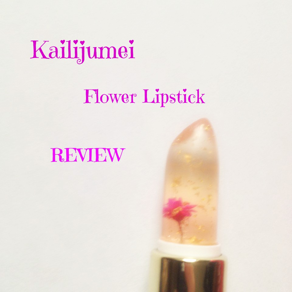 Kailijumei Flower Lipstick || REVIEW