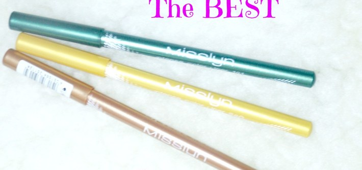 Misslyn Intense Color Liners || REVIEW