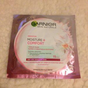 Garnier mask pink