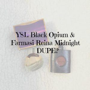 Black Opium Reina Midnight dupe