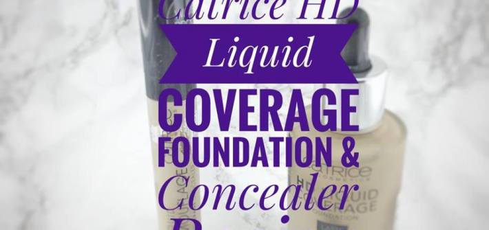 catrice foundation & concealer