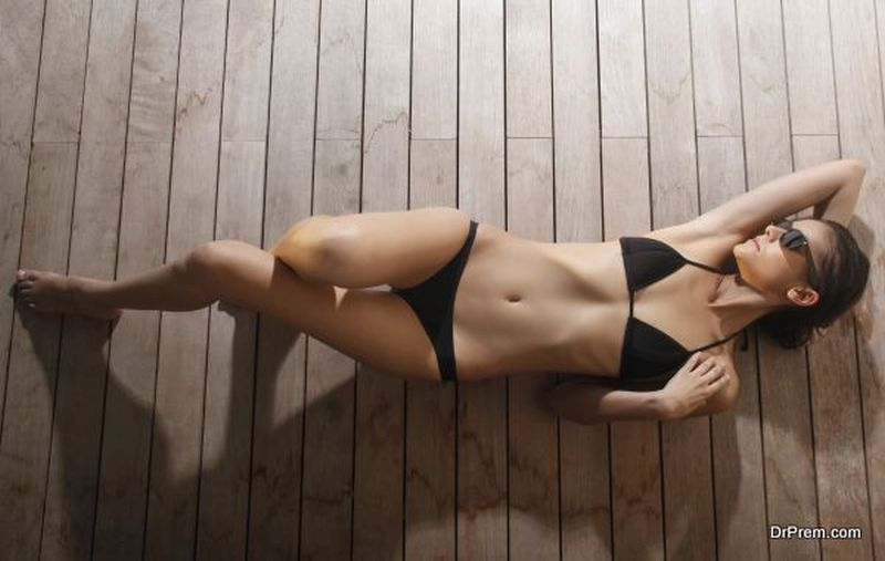 perfect beach body