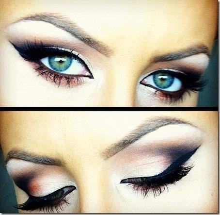 blue eyes makeup 878