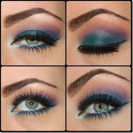 blue eyes makeup 923