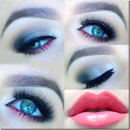 blue eyes makeup 932