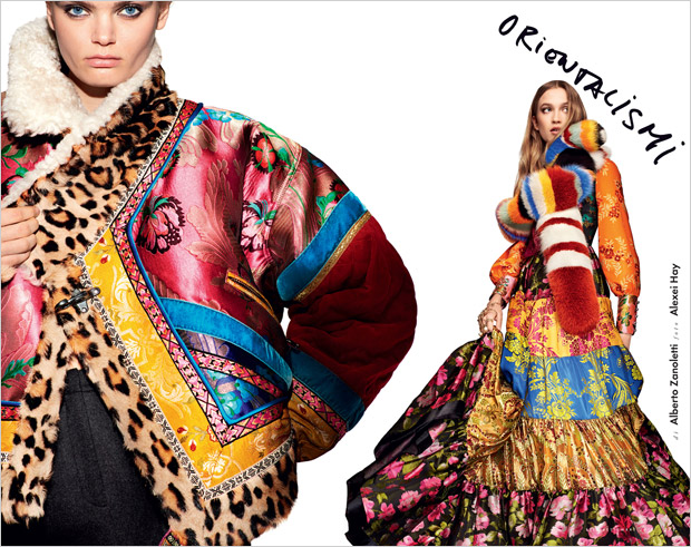 Fall Fashion Trends By Alexei Hay For Elle Italia