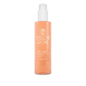 <br>YELLOW ROSE</br> Valomasis gelis su gėlių ekstraktais normaliai ir sausai odai – Face wash with flower extracts, 200ml