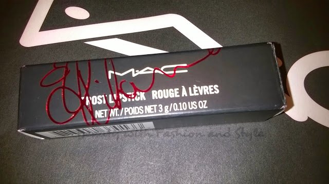 MAC Viva Glam Rihanna Lipstick Box