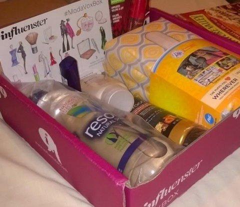 Influenster Moda Vox box