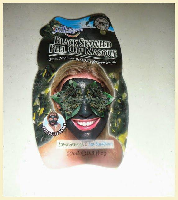 Montagne Jeunesse Black Seaweed Peel Off Masque