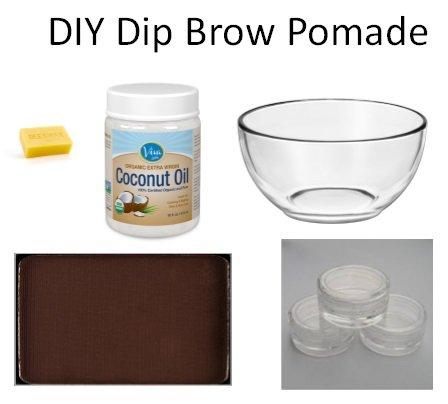 DIY Dip Brow Pomade