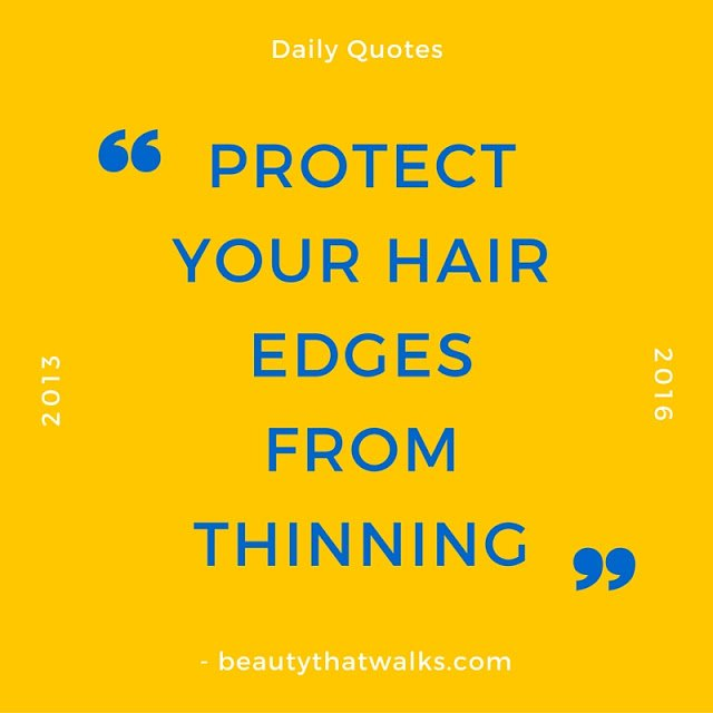 hair edges, hair thinning, breakage