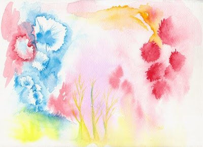 how to make your own watercolor tablecloth beauty that walks