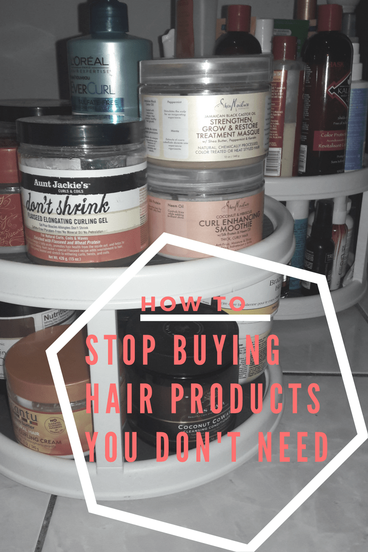 Natural Hair Product Junkie Problems