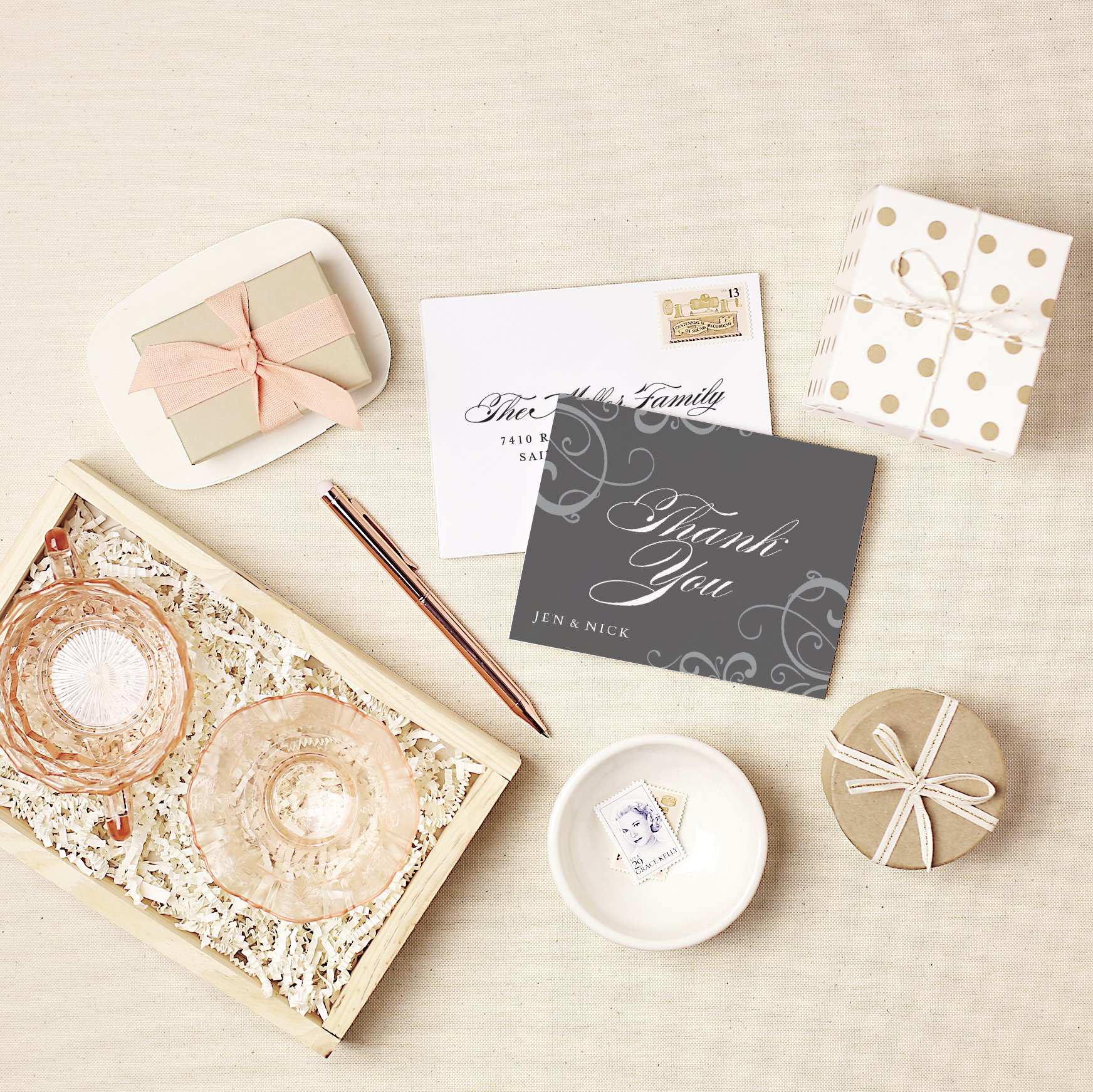 Affordable Custom Postcards: When to Say Thank You with Cards