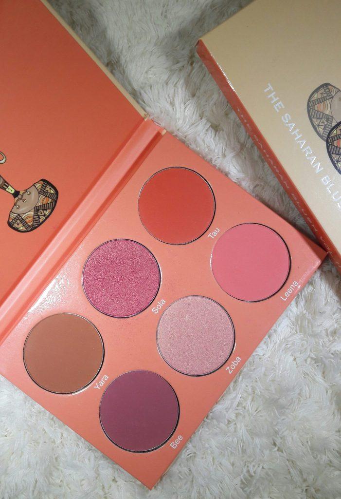 Saharan Blush Palette