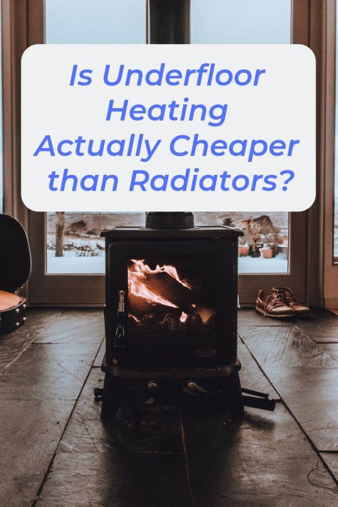 home heating hacks winter, home heating ideas, underfloor heating diy ideas