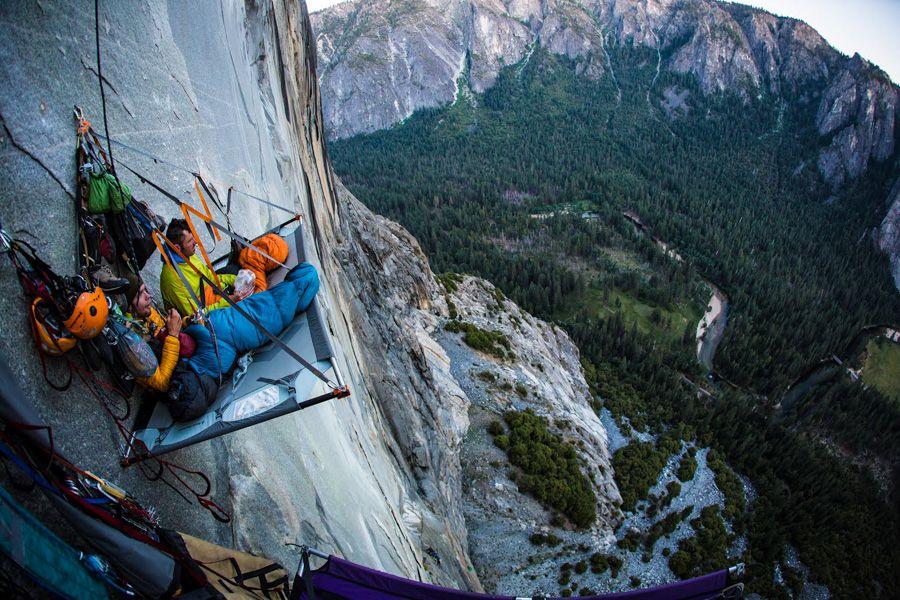 cliff base hanging