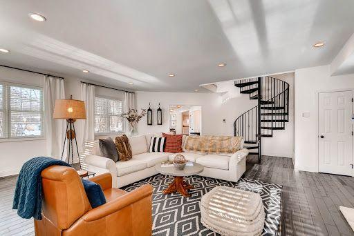 declutter living room