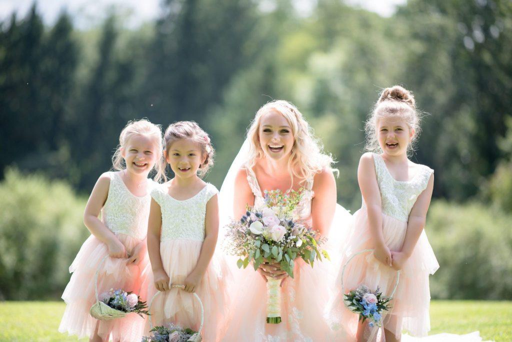 adorable-children-wedding-bride-dress