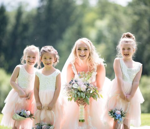adorable-children-wedding-bride-dress
