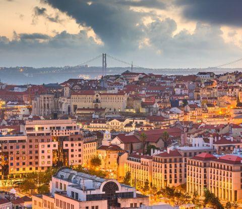 Lisbon Portugal Skyline