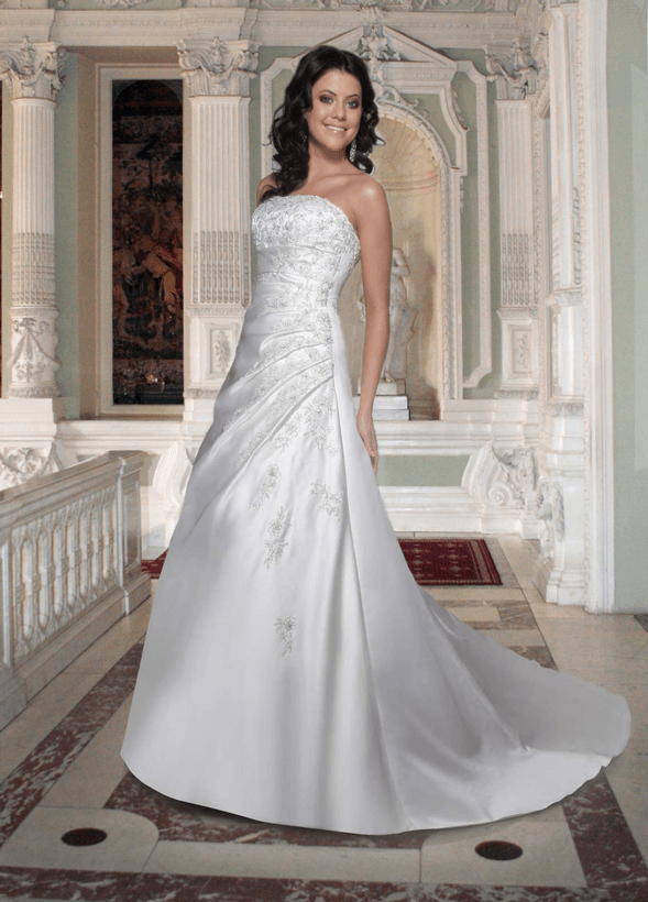 ruched gowns