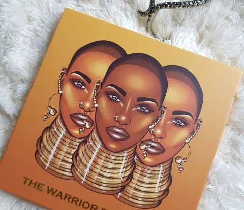 The Warrior, Juvia's Place Warrior Eyeshadow Palette Review