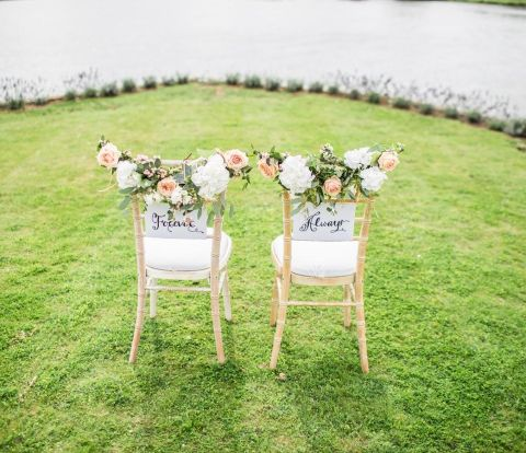 wedding chairs, wedding trends