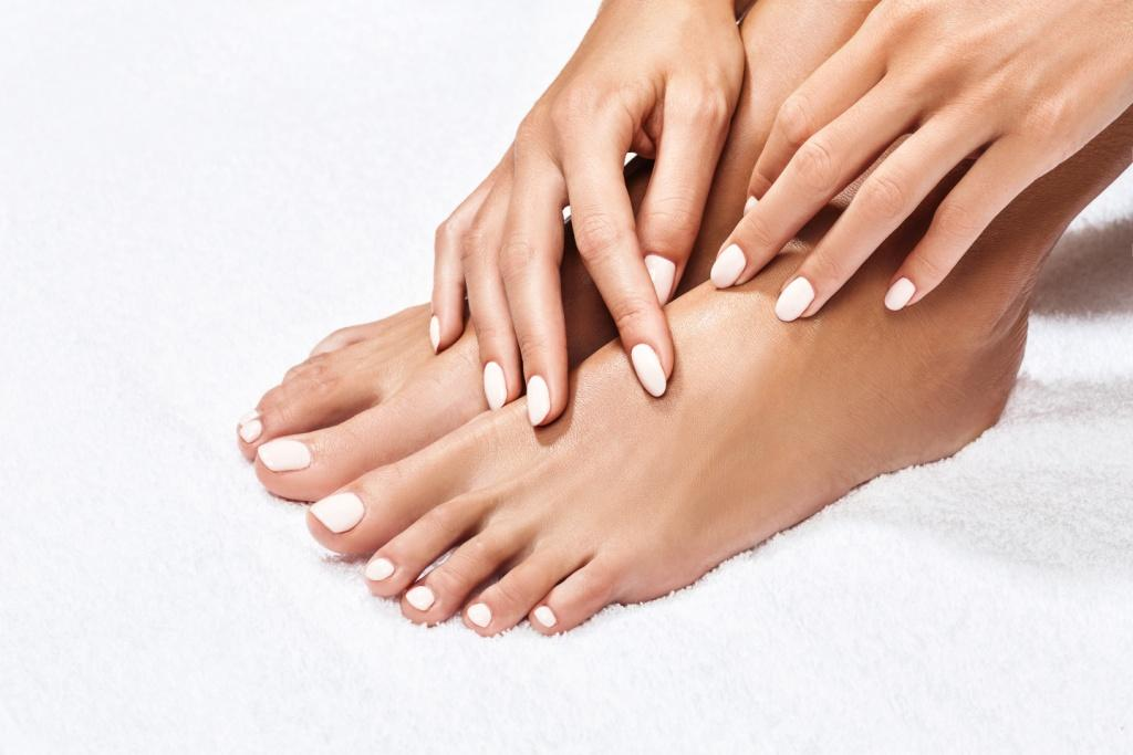 Manicure. Pedicure. Nails. Shellac, acrylic nails, shellac nails