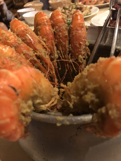 竹北美食餐廳#蝦子好大隻,口味也好多!新竹吃海鮮料理推薦◆知名聚餐美食分享~