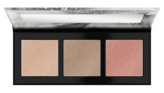 Catrice Luminice Highlight & Blush Glow Palette Front View Half Open