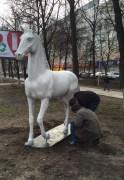 скульптура лошади окт